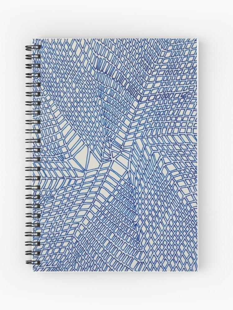 Crackle Spiral Notebook - Amanda Schoppel Art & Wax Carving