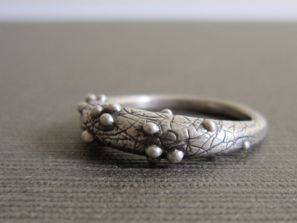 Stackable Bump Ring - Amanda Schoppel Art & Wax Carving