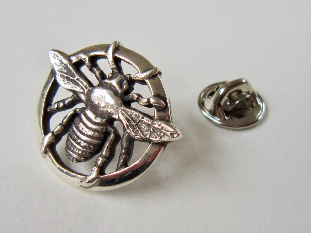 Bee Pin - Amanda Schoppel Art & Wax Carving