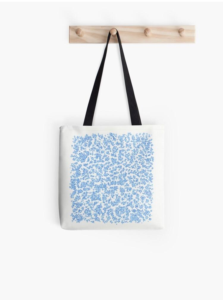 Droplet Tote Bag - Amanda Schoppel Art & Wax Carving