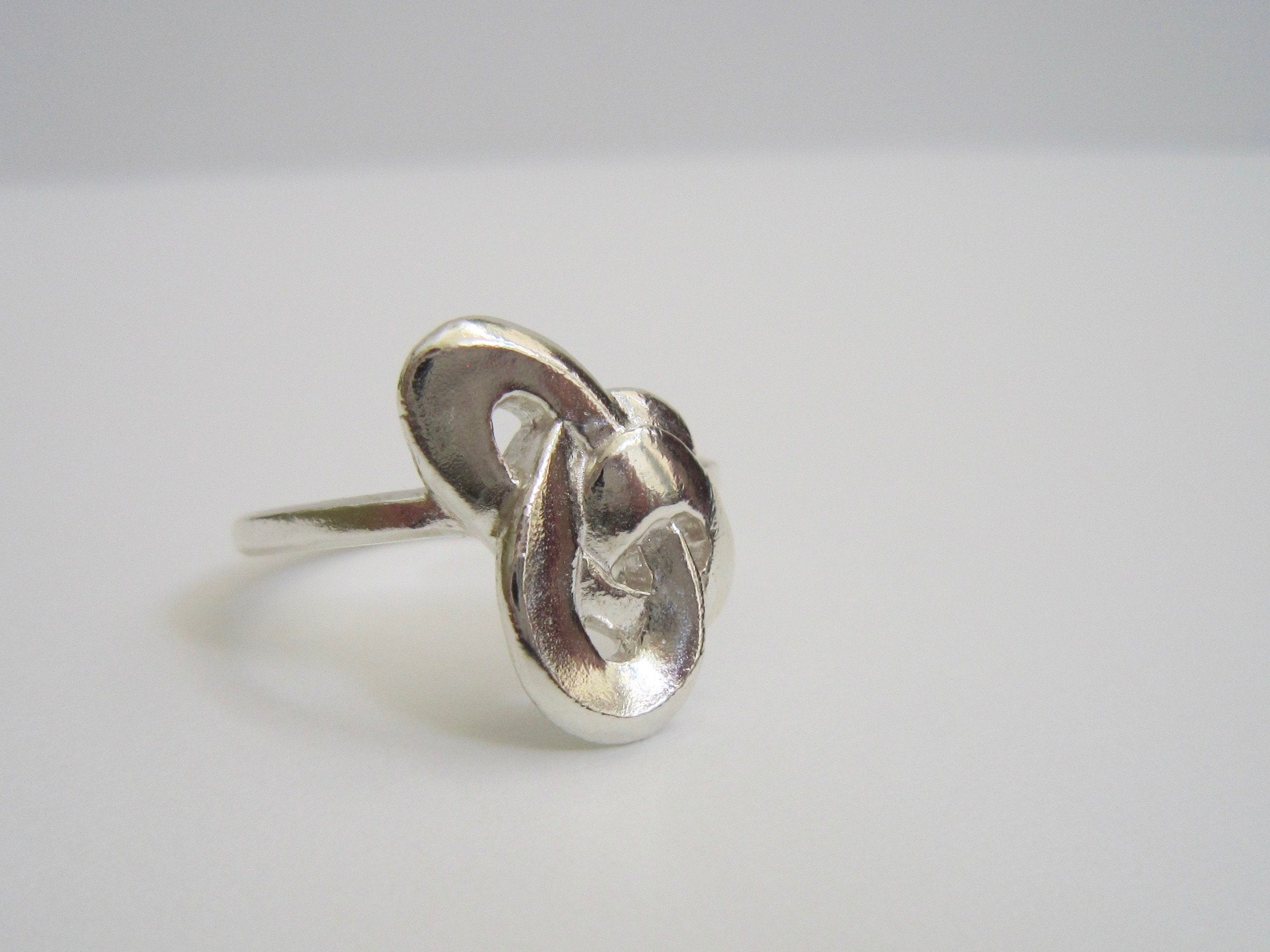 Knotted Infinity Ring - Amanda Schoppel Art & Wax Carving