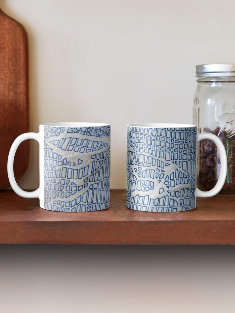 Crumple Detail Mug - Amanda Schoppel Art & Wax Carving