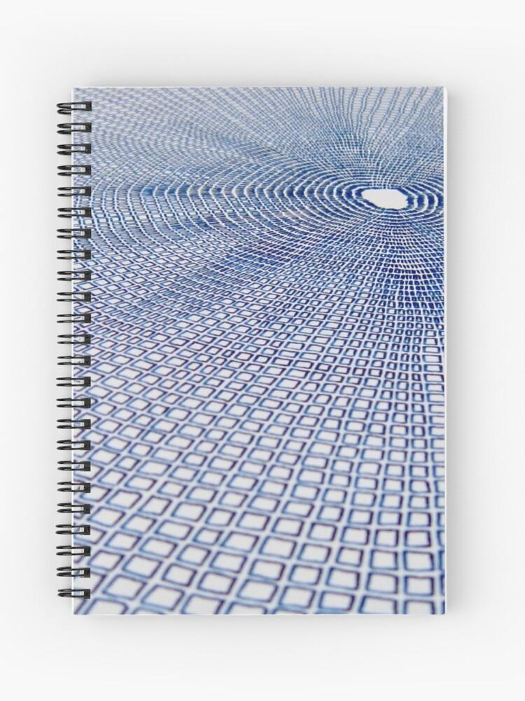 Radiant Energy Spiral Notebook - Amanda Schoppel Art & Wax Carving