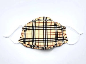 Open image in slideshow, Scottish Cage Plaid Mask
