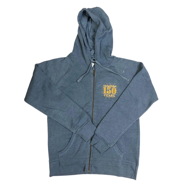 150th Anniversary Ladies Zip Hoodie