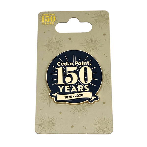 150th Anniversary Pin - Navy