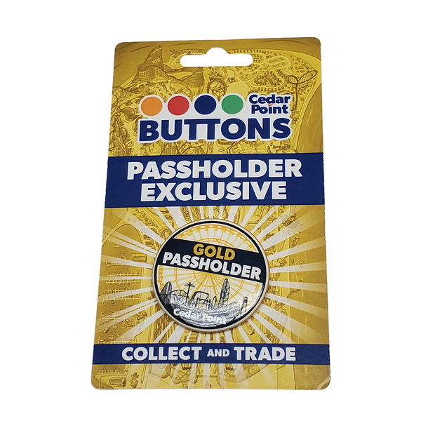 Button Gold Passholders