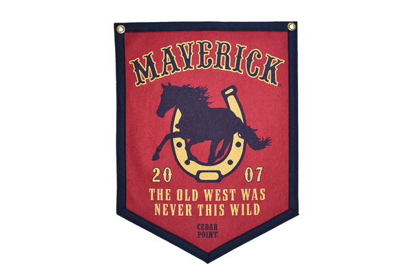 Maverick Banner by Oxford Pennants