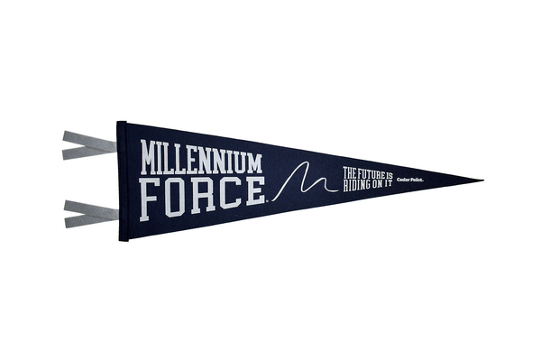 Millennium Force Pennant by Oxford Pennants