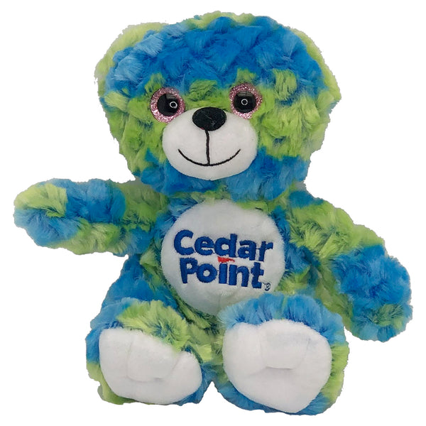 Cedar Point Waffle Bear - Blue/Green