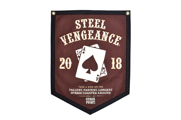 Steel Vengeance Banner by Oxford Pennants