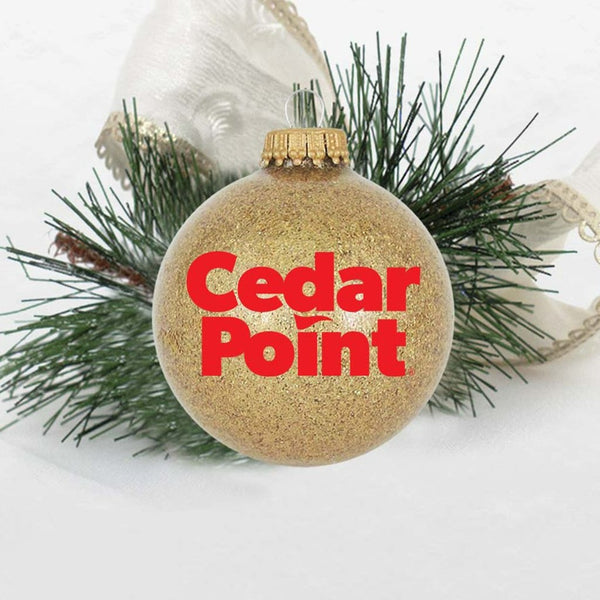 Cedar Point Stack Logo Ornament