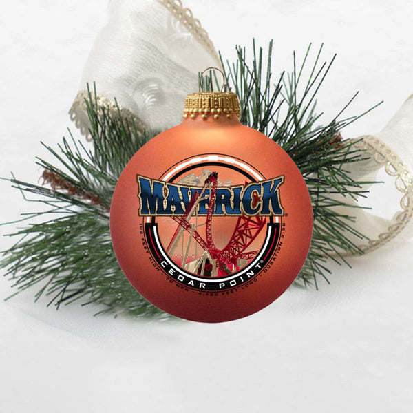 Maverick Circle Sign Ornament