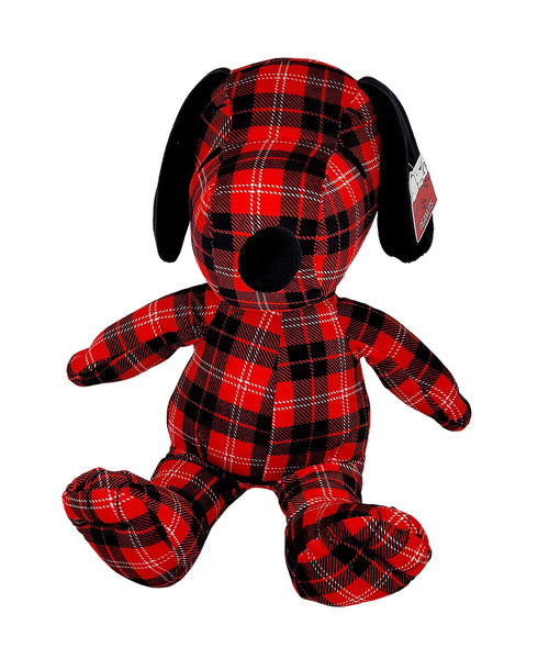 "9"" Plaid Snoopy"