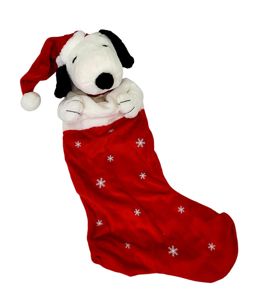 "20"" Snoopy in Stocking"