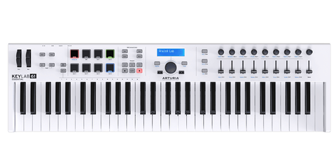 Keylab Essentials  61 Blanco