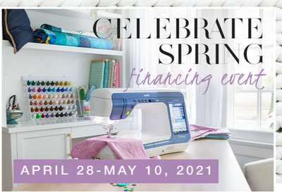Brother Spring Sales Event 4/28-5/10