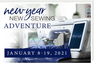 New Year, New Sewing Adventure (January 8-19, 2021)