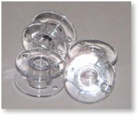 10 Clear Brother Bobbins - The Sewing Gallery