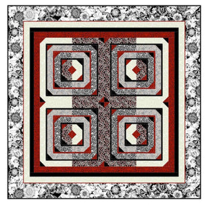 Black Tie Affair Quilt Pattern - The Sewing Gallery