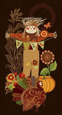 Brown Scarecrow - The Sewing Gallery