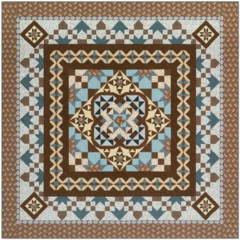 Charlottes Medallion Quilt Kit - The Sewing Gallery