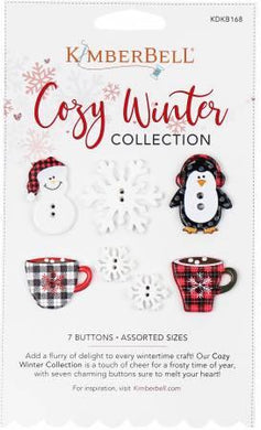 Cozy Winter Collection Buttons - The Sewing Gallery