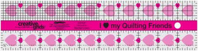 Creative Grid Ruler 2X10 - The Sewing Gallery