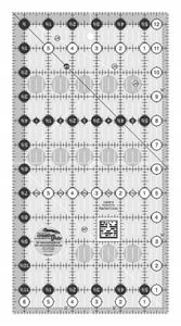 "Creative Grid Ruler 6 1/2"" X 12 1/2"" - The Sewing Gallery"