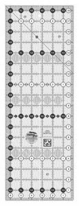 "Creative Grid Ruler 6 1/2"" X 18 1/2 - The Sewing Gallery"