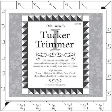 Deb Tucker's Tucker Trimmer - The Sewing Gallery