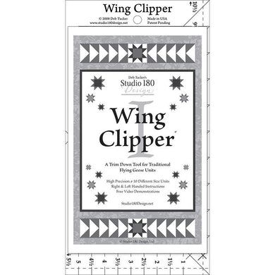 Deb Tucker's Wing Clipper - The Sewing Gallery