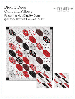 Diggity Dog Quilt & Pillow - The Sewing Gallery