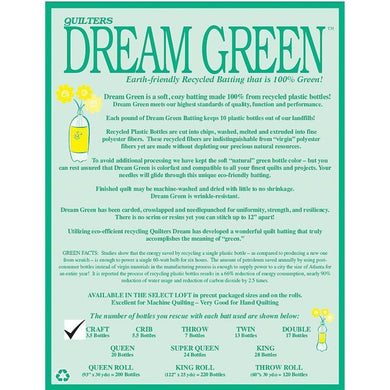Dream Green Craft - The Sewing Gallery