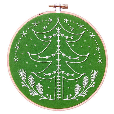 Embroidery Kit Tannenbaum DEKT Cozyblue Handmade - The Sewing Gallery