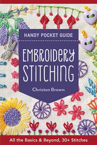Embroidery Stitching Handy Pock - The Sewing Gallery