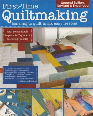 First Time Quilt Making Book - The Sewing Gallery