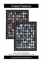 Load image into Gallery viewer, Fracture Fusion Quilt Kit (Turq. Opt) - The Sewing Gallery