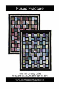 Fracture Fusion Quilt Kit (Turq. Opt) - The Sewing Gallery