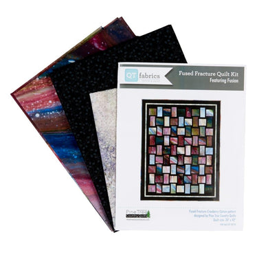 Fused Fracture-Quilt Kit (#3871B) - The Sewing Gallery