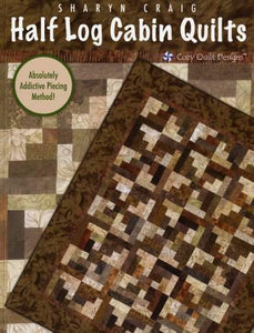 Half Log Cabin Quilts - The Sewing Gallery