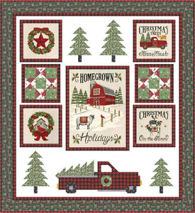 Homegrown Holidays Kit - The Sewing Gallery