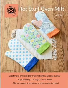 Hot Stuff Oven Mitt - The Sewing Gallery