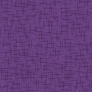 KB Purple Linen Texture - The Sewing Gallery
