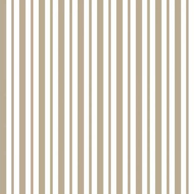 KB Tan Mini Awning Stripe - The Sewing Gallery