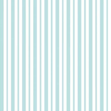 KB Teal Mini Awning Stripe - The Sewing Gallery