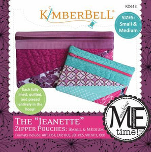 KB The Jeanette Zip Pouches - The Sewing Gallery