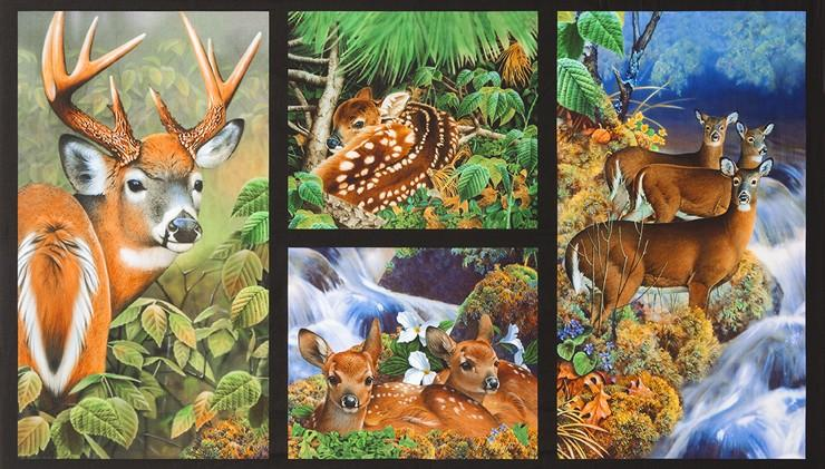 Kaufman Nature Wildlife Panel - The Sewing Gallery