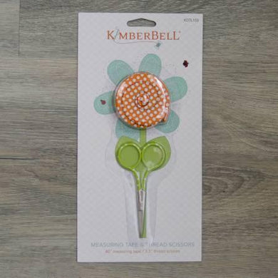 Kimberbell Measuring Tape and Thread Scissor Set - The Sewing Gallery