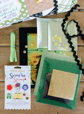 Luck O The Gnome Embellishment Kit # KDKB194 - The Sewing Gallery